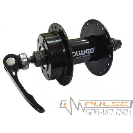 Втулка передняя QUANDO KT-M65F(32H/QR/M9/100/disc)black