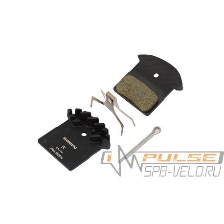 Колодки disc SHIMANO J02A(resin/радиатор)XT/SLX/ALFIN