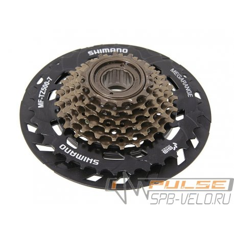 Трещотка SHIMANO MF-TZ500(14-34)7sp/защита