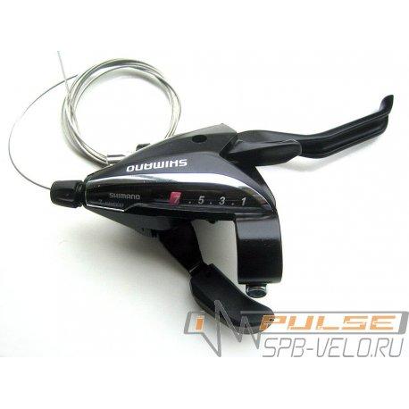 Шифтер/торм.ручка R SHIMANO ST-EF65(7sp)