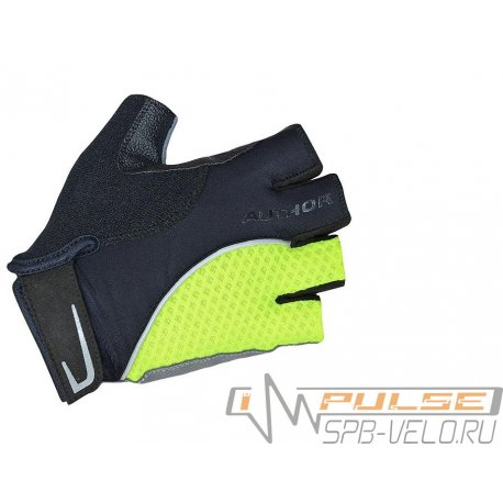 Перчатки AUTHOR TEAM X6 yellow/black(L)