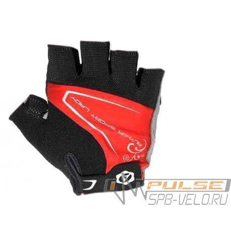 Перчатки женские AUTHOR LADY COMFORT GEL red/black(M)