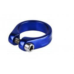 Хомут подседельный M-Wave31,8мм(болт)синий