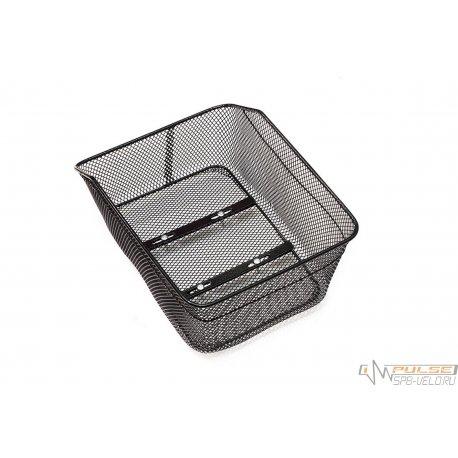 Корзина на багажник PS-BSK-999(38х28х18cм)(черная/крепеж)
