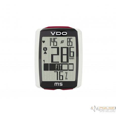 Велокомпьютер VDO M5WL(13 function)каденс/пульс/беспроводной