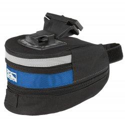 Сумка подседельная M-WAVE L(180х110х100-170mm)черно-синяя