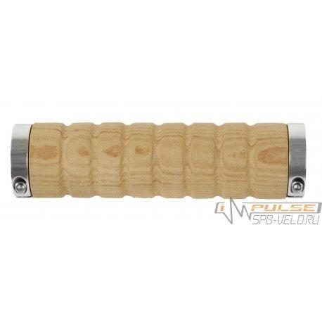 Ручки M-WAVE (130mm) 2 lock(светло-коричн/под дерево)