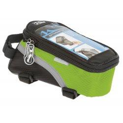 Сумка на раму M-WAVE(для смартфона)L(170х80х80)черно-зеленая