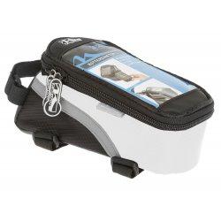 Сумка на раму M-WAVE(для смартфона)L(170х80х80)черно-белая