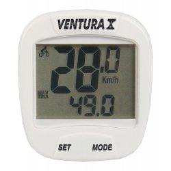 Велокомпьютер VENTURA X(10 function)белый
