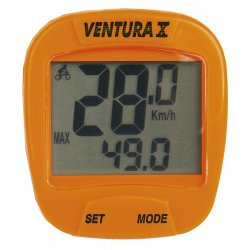 Велокомпьютер VENTURA X(10 function)оранжевый