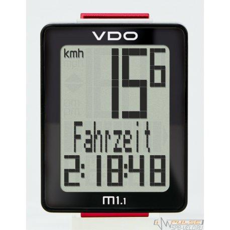 Велокомпьютер VDO М1.1WR (5 function)
