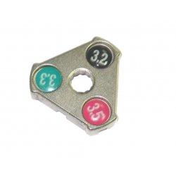 Ключ для спиц BIKE HAND YC-1A(0.127''/ 0.130''/ 0.136'')