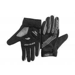 Перчатки FUZZ WIND PRO(черные/серые)длинные пальцы/L