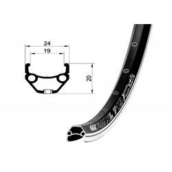 Обод RMX L719 700C(622х19)CSW 32H/black