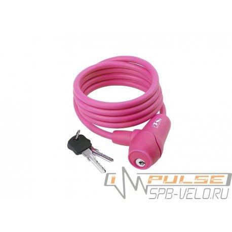 Замок M-WAVE S 10.18(10x1800mm)розовый
