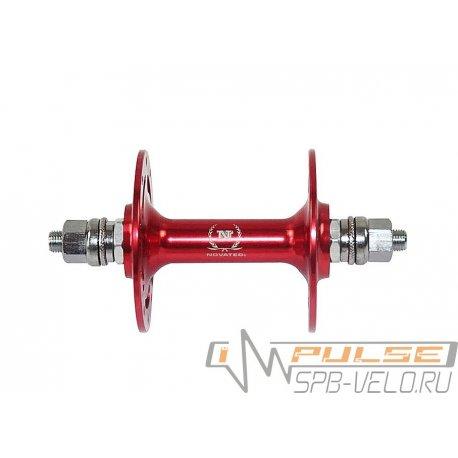 Втулка передняя NOVATEC(32H/M9/140)red