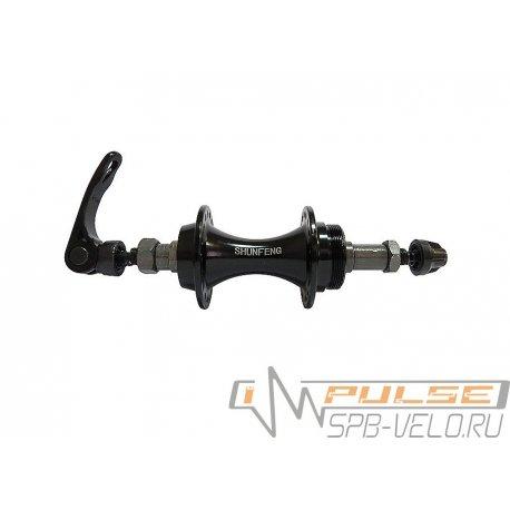 Втулка задняя SHUNFENG SF-A208R(36H/QR/7sp)black