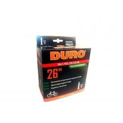 Камера DURO 26x1.75/2.125(47/57-559)A/V48mm(c герметиком)