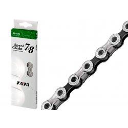 """Цепь TAYA TB-600(1/2""""х3/32""""x116L)7-8sp/silver/black"""