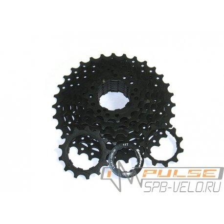 Кассета Sun Race M55(11-32)black/8sp