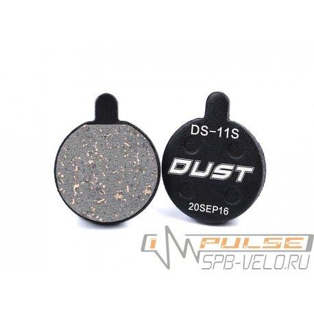 Колодки disc DUST DS-11S(APSE/ZOOM/ARTEK FOR APOLLO/SHOCKWAVE/ X-RATED)