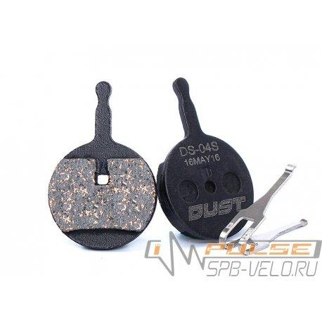 Колодки disc DUST DS-04S(AVID BB5/CLARKS CMS-17)