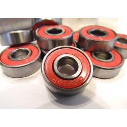 Подшипник ABEC-9 608RS (красный)