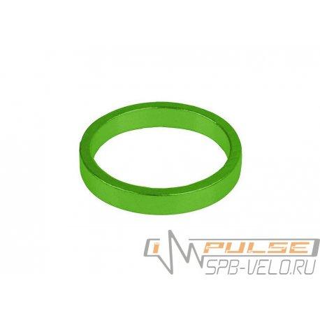 "Кольцо рулевое 1 1/8""(5mm)green"