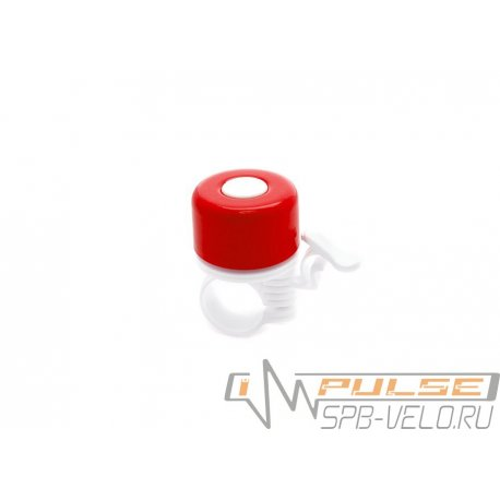 Звонок YL 11-4 метал/пластик(D35мм)красный
