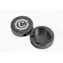 Заглушки ручек СLR-CF CLARK'S(черные)